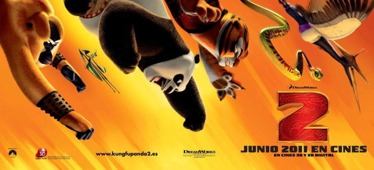 Resultado de imagen para kung fu panda 1 y 2 poster